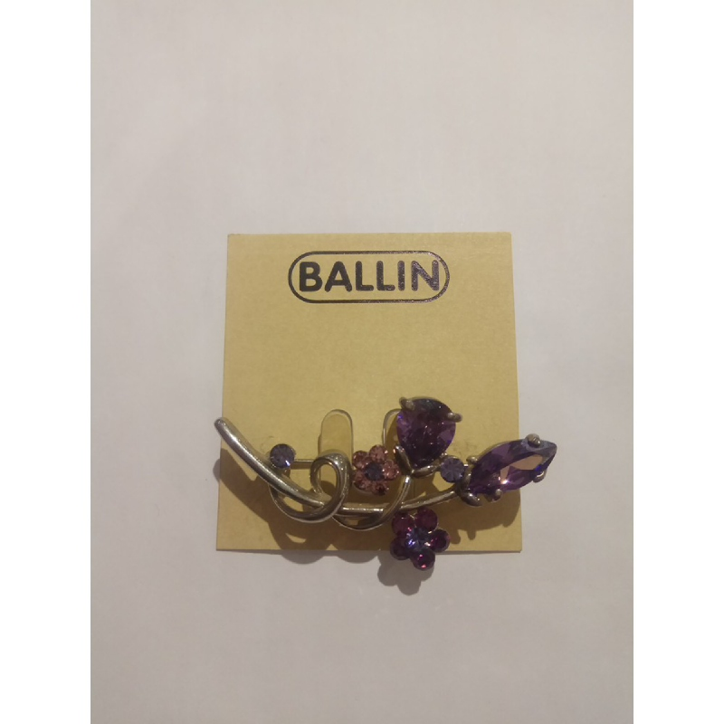 Ballin Women Brooch CB-BR29-02951SU Silver