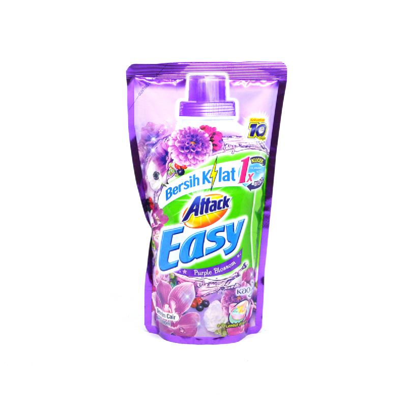 Attack Easy Detergen Cair Purple Blossom 800 Ml