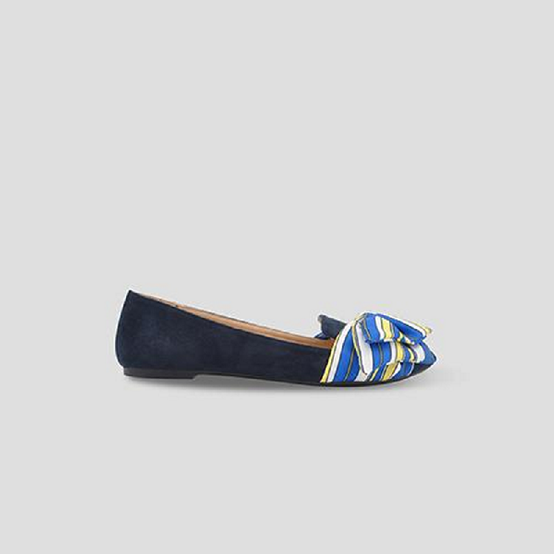 The Little Things She Needs Flat Shoes Brunella Navy