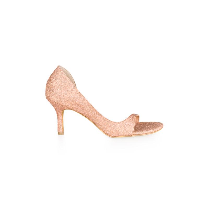Armira High Heels D-Orsay Sandals Nude