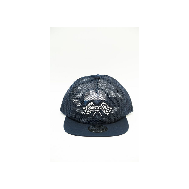3Second Men Hat 0707 Blue