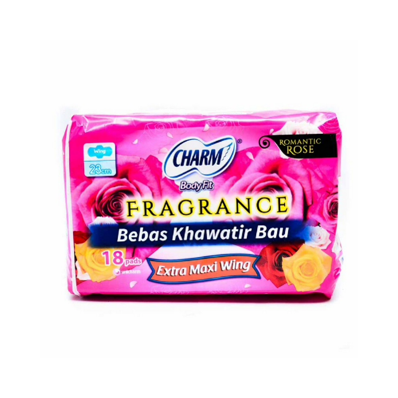 Charm Fragrance Extramaxi Non Wing 18S