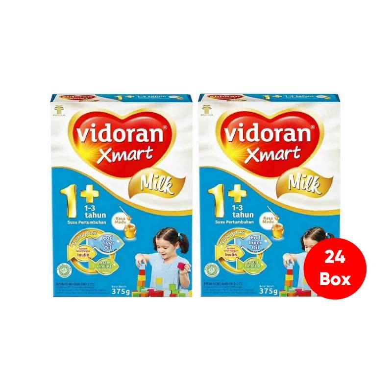 Vidoran Xmart 1+ Nutriplex Madu Box 750Gr (Get 24)