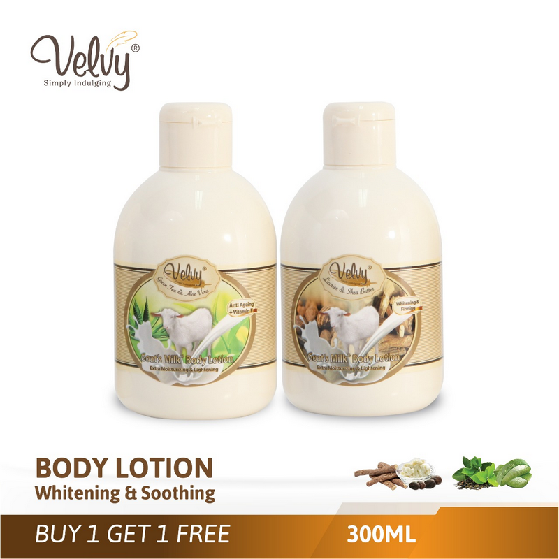Buy1 Get1 Velvy Body Lotion 300Ml