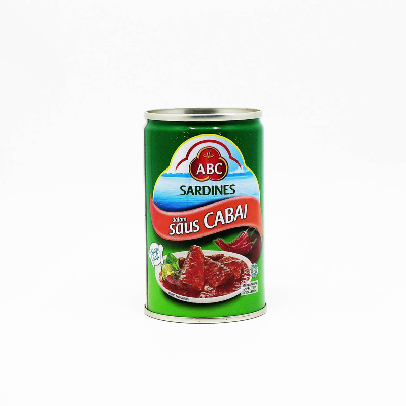 Abc Sardine Chilli 155 Gram