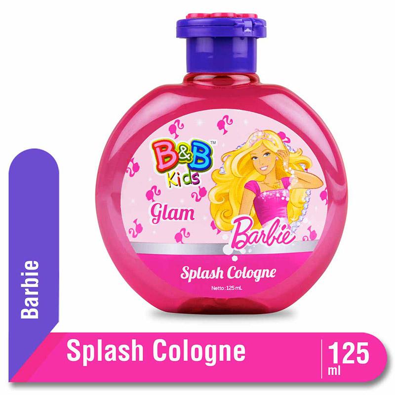 B&B Kids Barbie Splash Cologne Glam 125 Ml