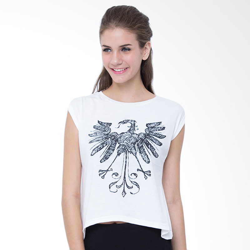 Sabichi Nation Bird GJ White T-shirt