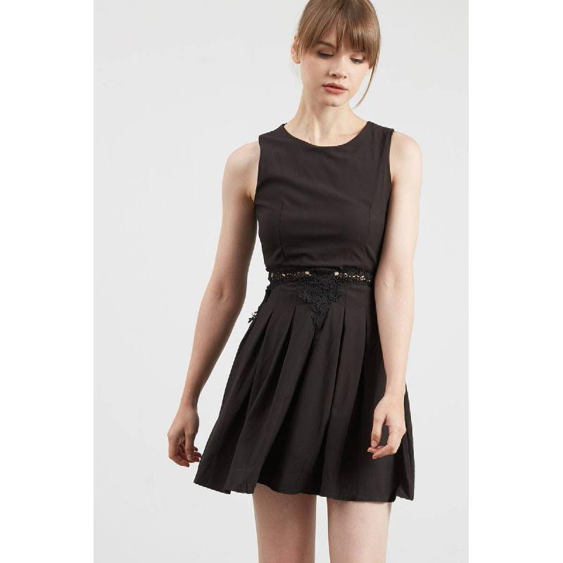 Gwen Kempten Dress in Black