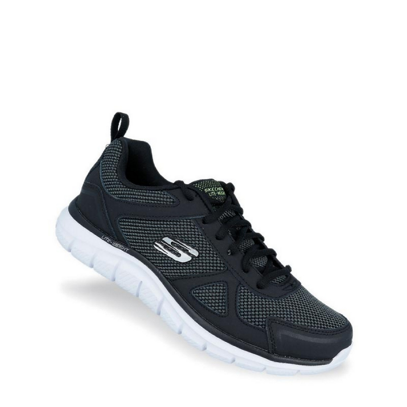 Skechers Track - Bucolo Men Running Shoes Black