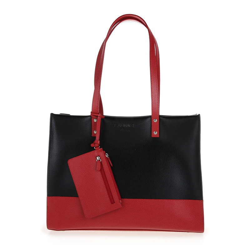 Laurige LOUISE COMB with small wallet Black-Red