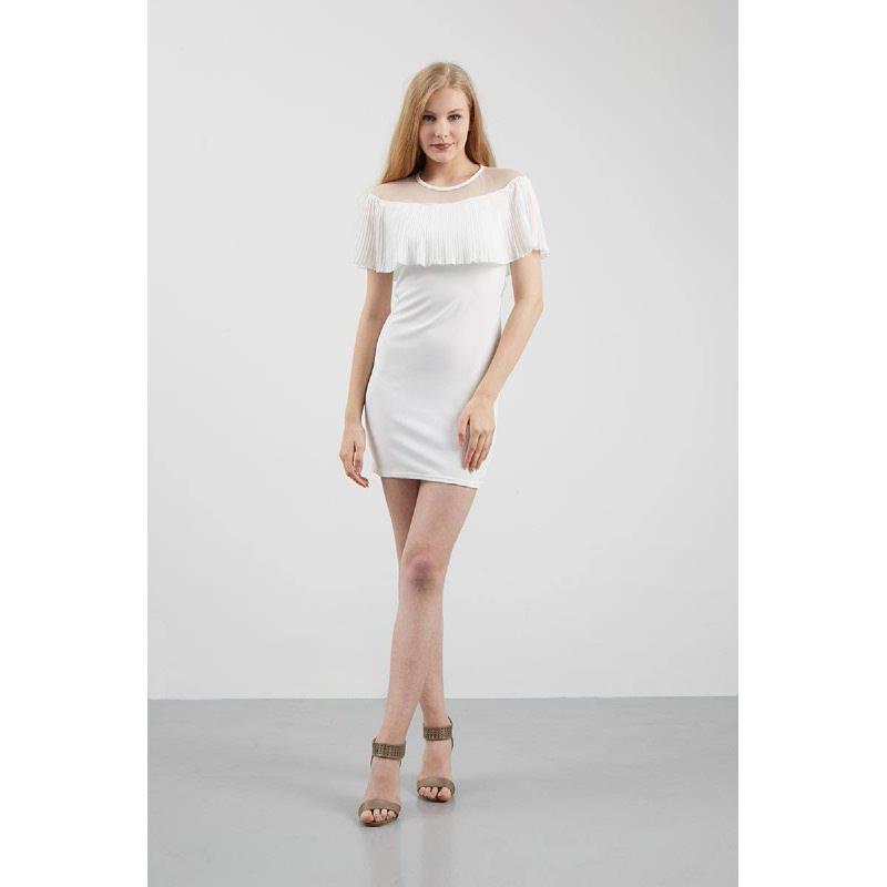 Francois Georgen Dress in White