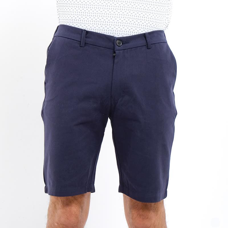 Mon Akita Men Short Pants Minoru Navy