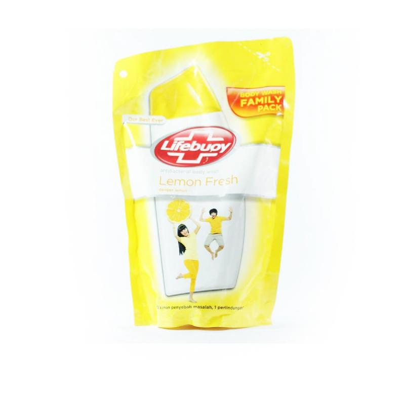 Lifebuoy Body Wash Lemonfresh Pouch 450 Ml