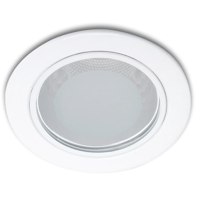 Philips Glass recessed nickle 13804 1x18W 230V