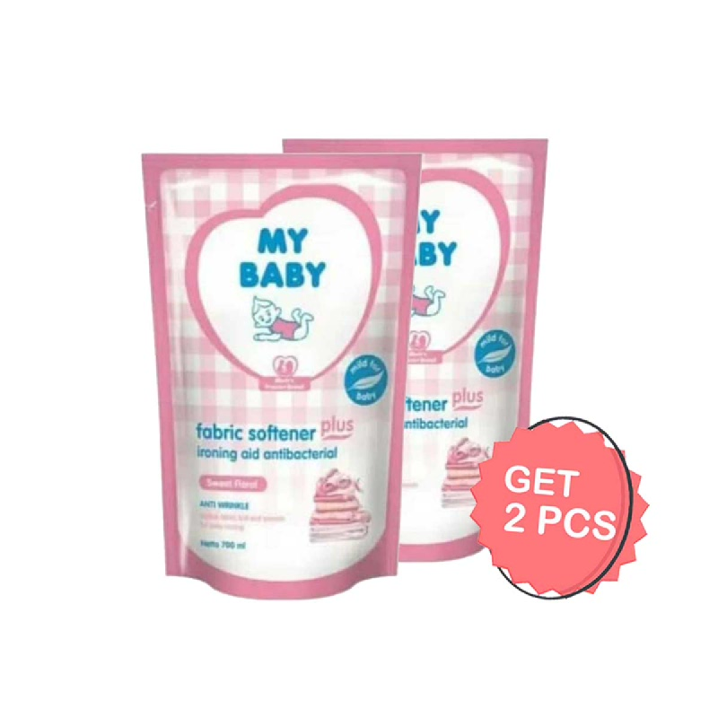 My Baby Softener Sweet Floral 700 Ml (Get 2)