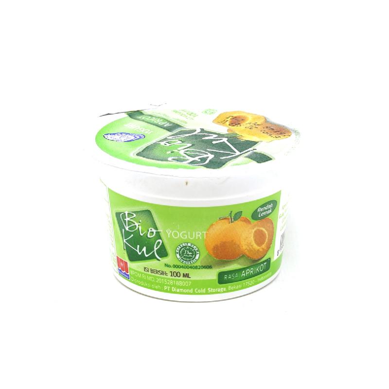 Biokul Stirred Apricot 100Ml