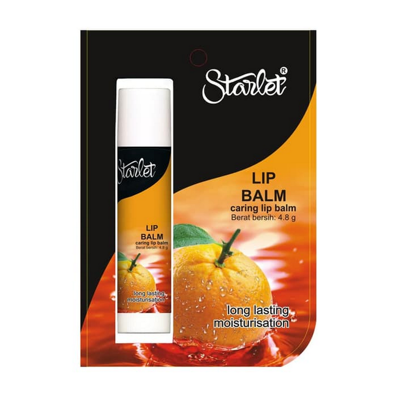 Starlet Lip Balm Orange