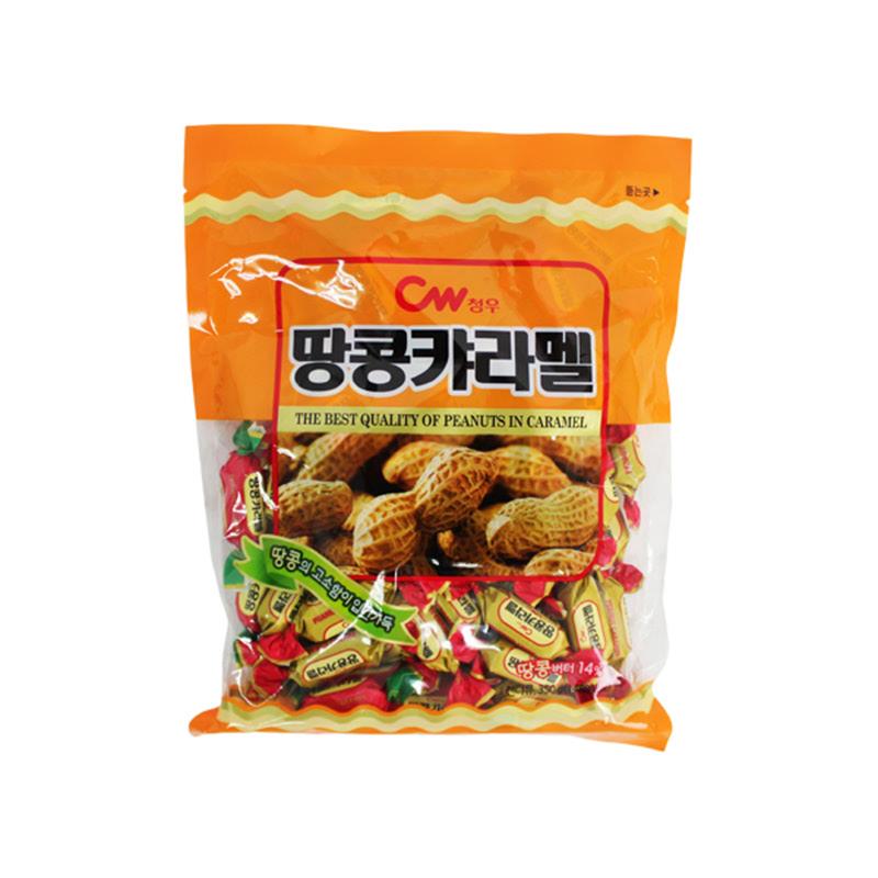 Chung Woo - Kembang Gula Rasa Kacang Karamel 350 gr