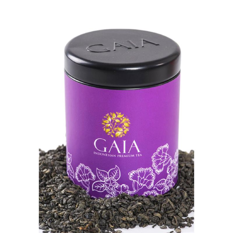 Gaia Tea - Gunpowder Kaleng Kecil
