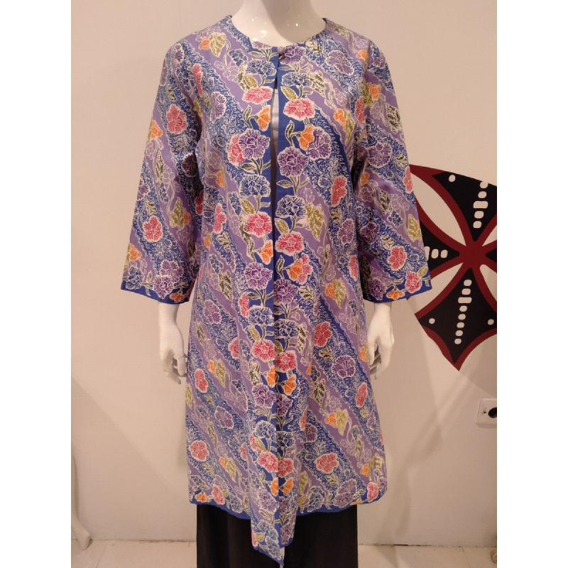 Astari Batik Coat Purple