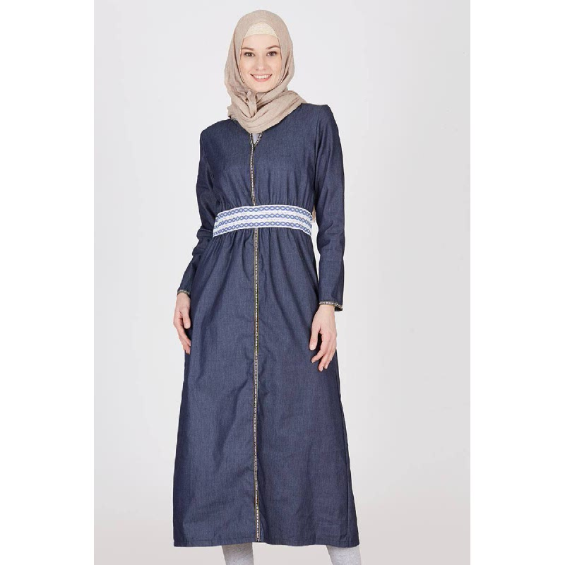 Callidora Dress Dark Blue