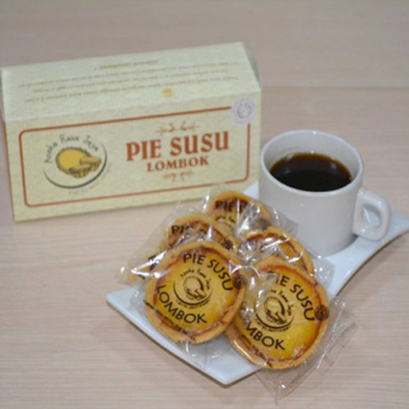 Pie Susu Lombok rasa Keju (isi 10)