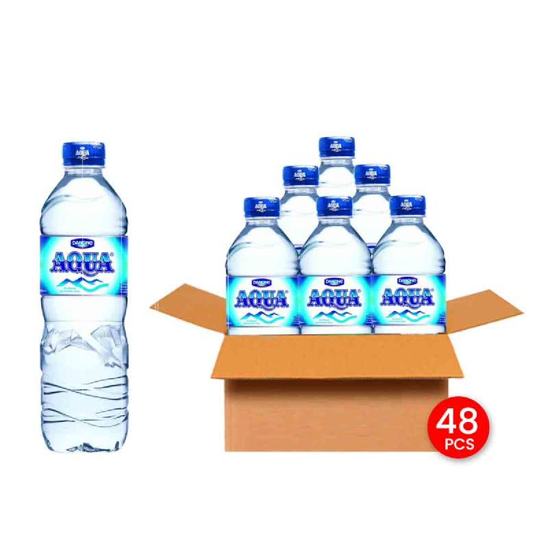 Aqua Mineral Water 600 Ml (Get 48)