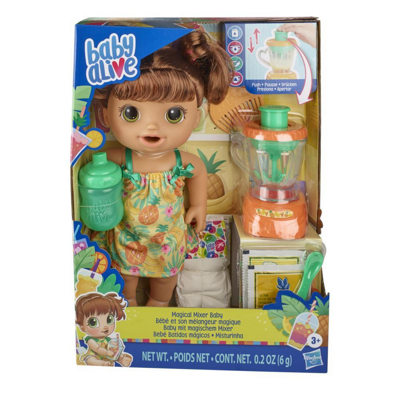 Baby Alive Magical Mixer Baby Doll - BYAE6944
