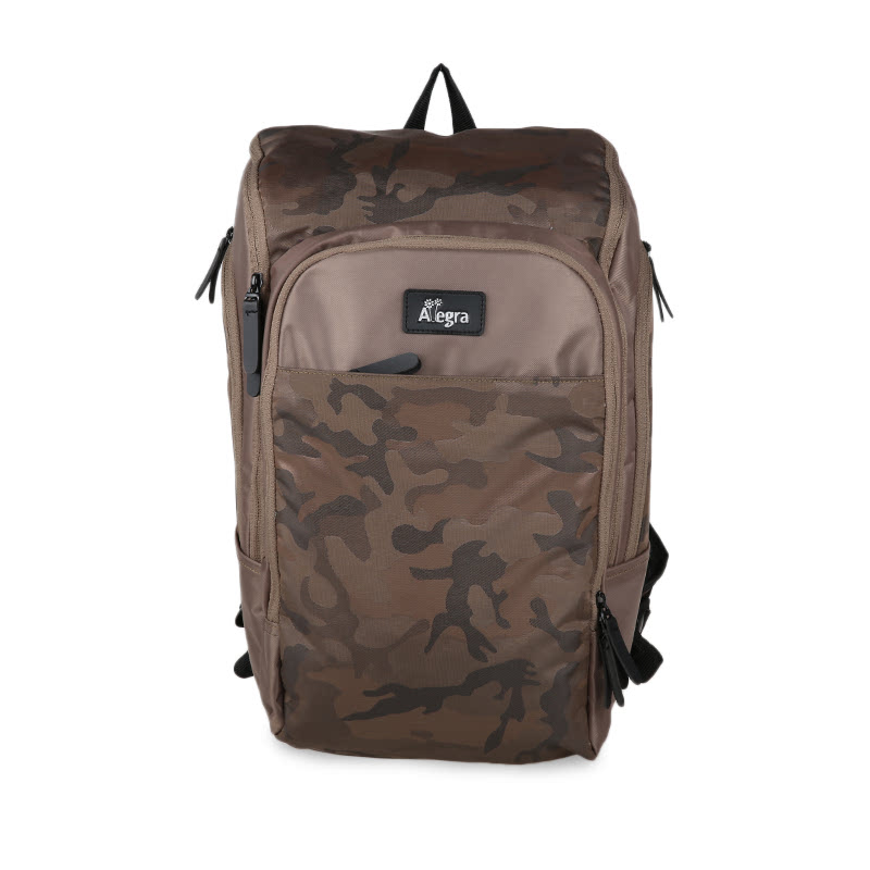 Allegra Army Cooler Diaper Bag Backpack Cream