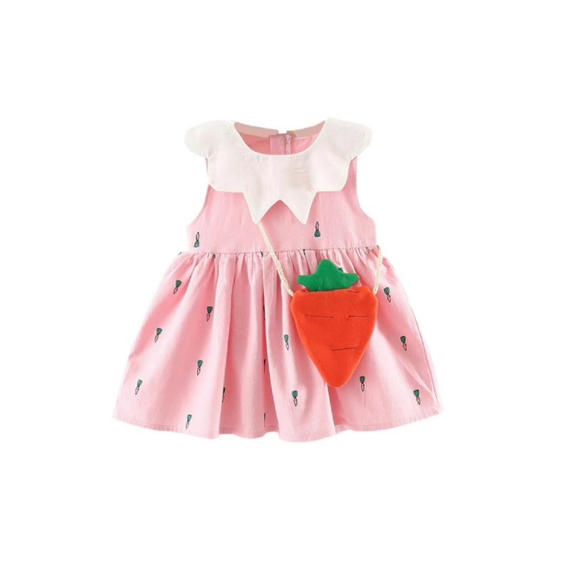 BabyLand My Pinky  Carrot Dress PCD001