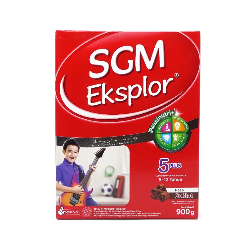 Sgm Eksplor 5+ Coklat 900Gr
