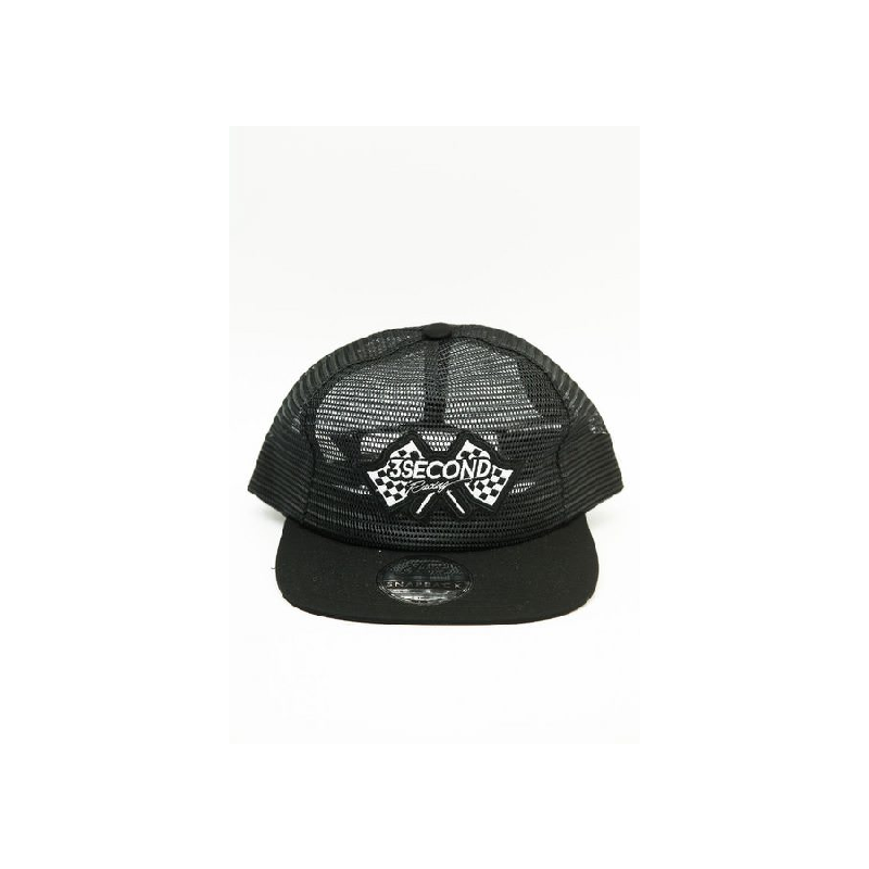 3Second Men Hat 0607 Black