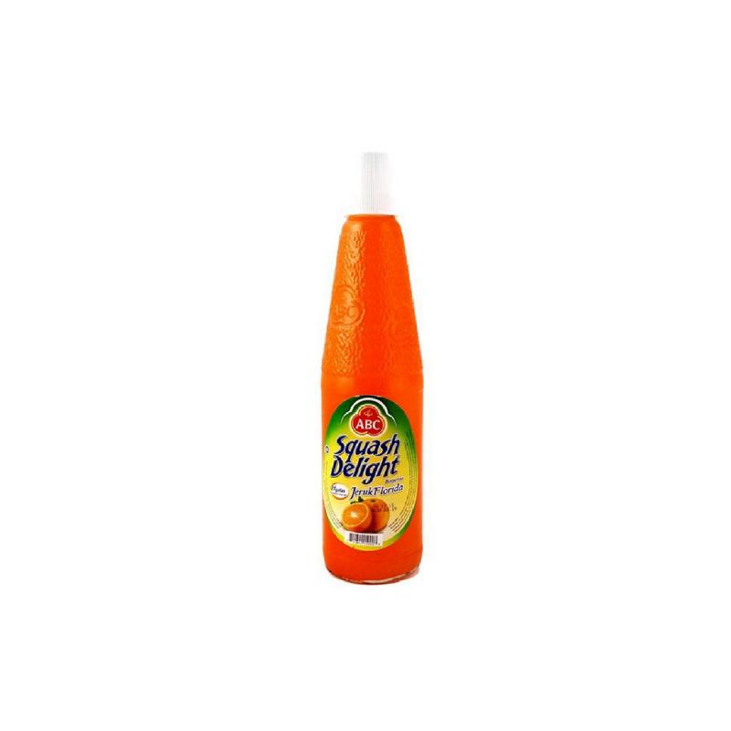 Abc Syrup Squash Orange Botol 460 Ml
