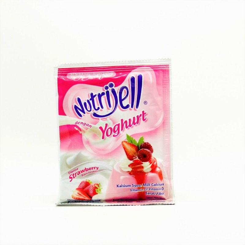 NUTRIJELL YOGHURT STRAWBERRY 35GR