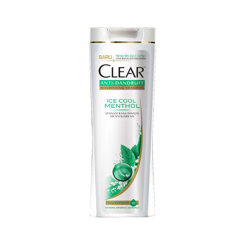 Clear Shampoo Ice Cool Menthol 320Ml