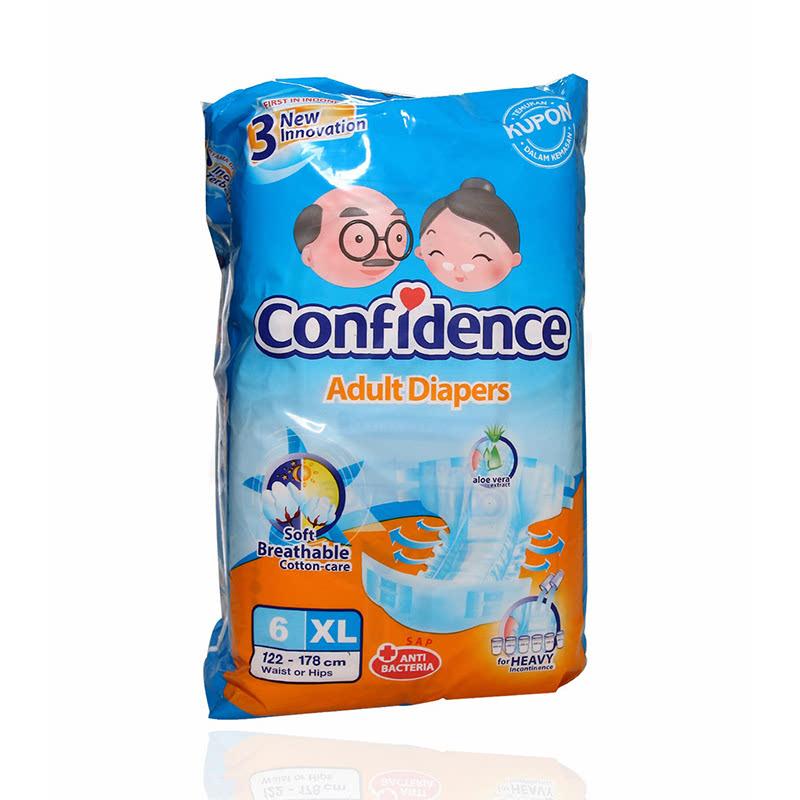 Confidence Adult Aloe Vera Xl 6 S
