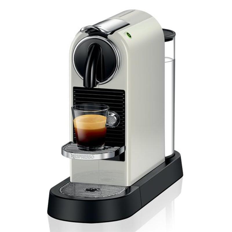 Nespresso Citiz C - D112 Espresso Capsule Mesin Kopi - Putih (D112)