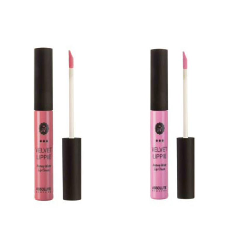 Absolute New York Velvet Lippie Poppy + Lolita