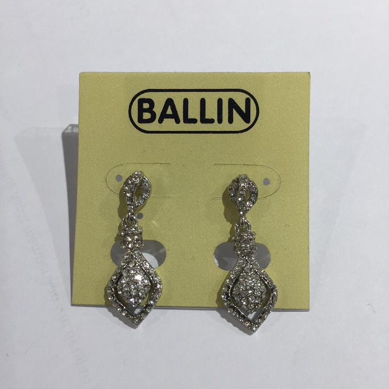 Ballin Women Earing YZ-E12038S Silver