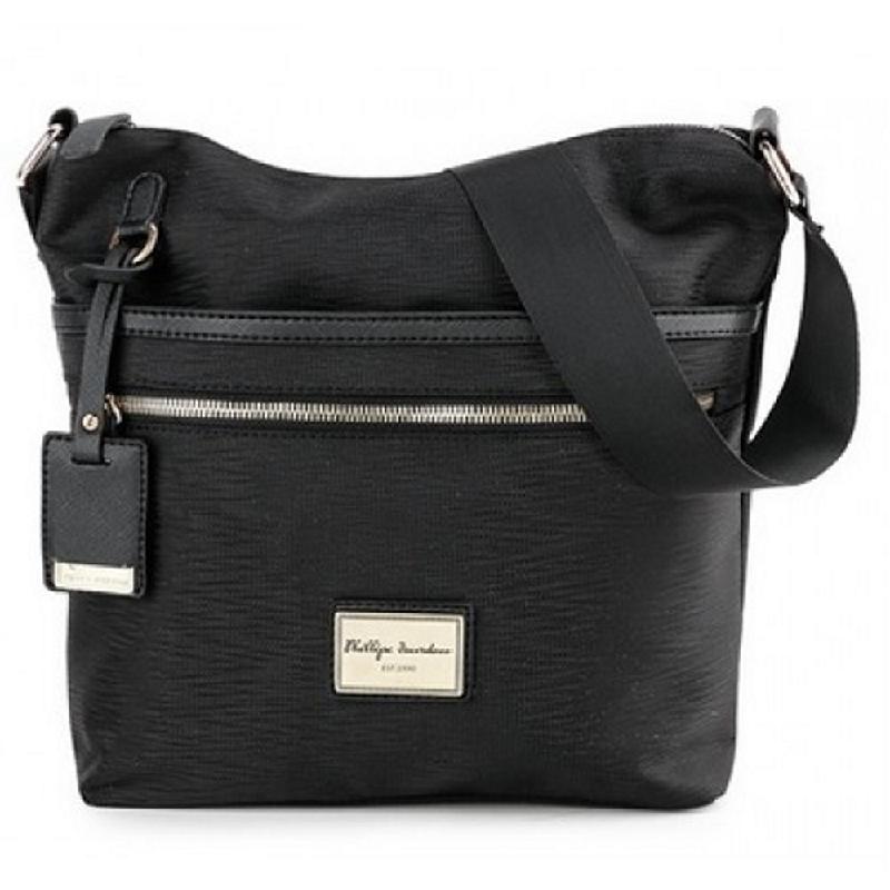 Phillipe Jourdan Forra Messenger Bag Black