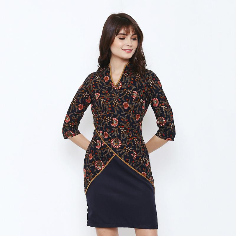 Asana Dress Batik Tilata Black