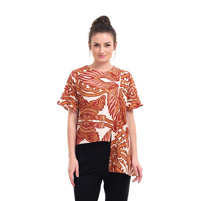 Batik Semar Alize Pa Liis Pth Sojomerto Blouse Red