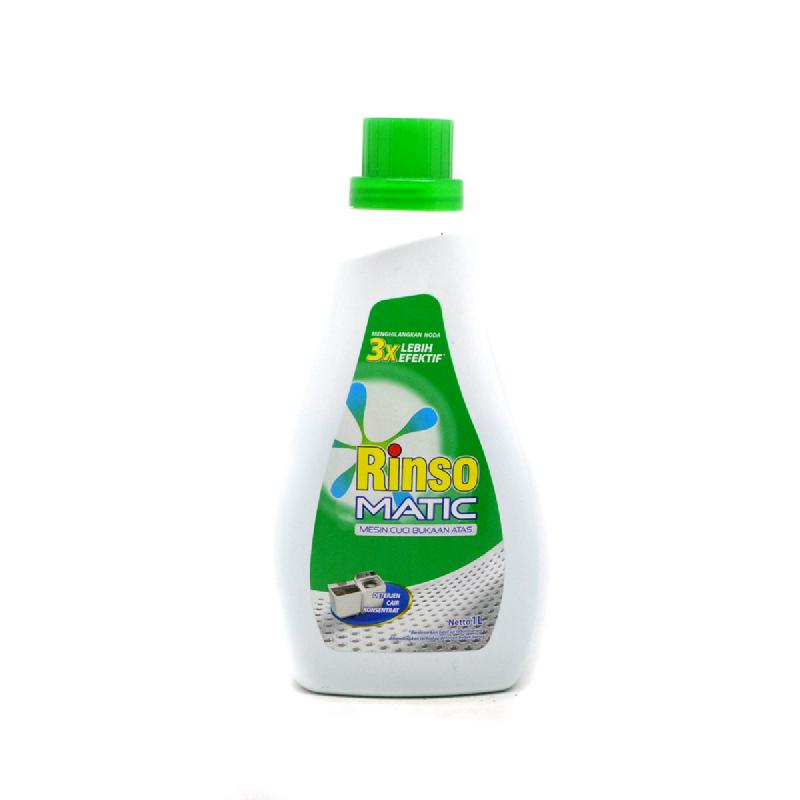 Rinso Detergent Liquid Matic Top Load Bottle 1 L
