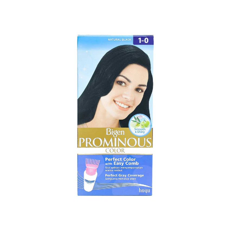 Bigen Prominous Hair Color Natural Black Type 1-0 40 Gr