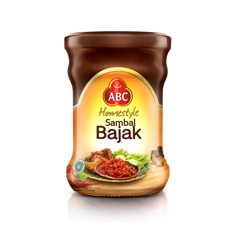 Abc Sambal Bajak Jar 190Ml