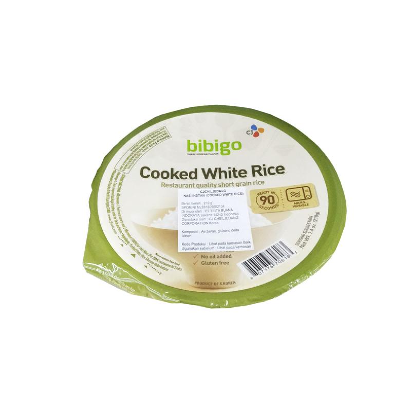 Bibigo Cooked White Rice 210 Gr
