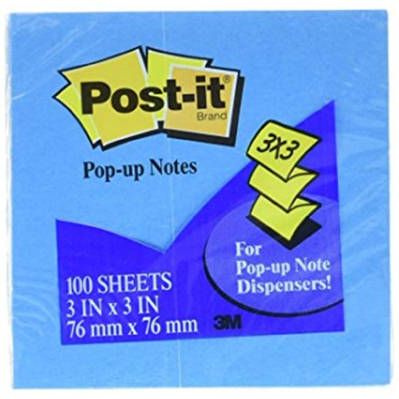 Post-It Refill Pop Up Note R 330 - 12 AN Neon Blue