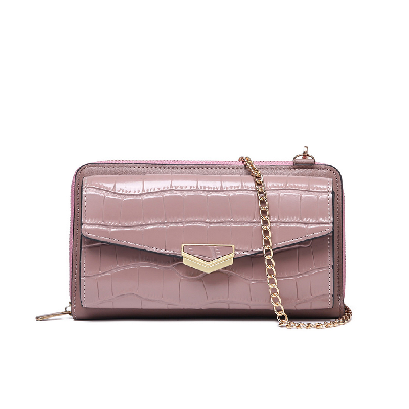 GYKACO CAROLLA Pink - Dompet & Clutch Wanita - Fashion Wallet & Clutch (Import)