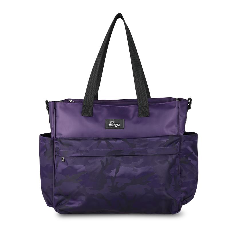 Allegra Army Cooler Diaper City Bag Purple
