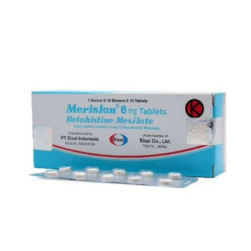 Merislon 6 mg Tab